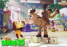 Herocross ~ HMF #079 Disney Toy Story Bullseye + Slinky Dog Figure Deluxe Ver