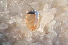 Tangerine Aura Quartz Point Pendant-2nd Chakra-Joy-Energizing