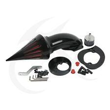 BLACK SPIKE AIR CLEANER KIT FILTER INTAKE FOR HONDA VTX1300 VTX1300C VTX1300R