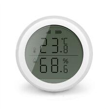 Tuya Zigbee Temperatur Feuchtigkeit Sensor mit LCD-Anzeige Sicherheitsalarm