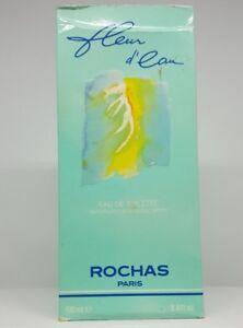 ROCHAS FLEUR D´EAU 100ML EDT SPRAY WOMAN UNSEALED BOX RARE GENUINE PERFUME
