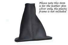 FITS BMW E28 5 SERIES 1981-1988 BLACK REAL LEATHER GEAR STICK GAITER COVER NEW