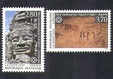 Francia (UNESCO) 1993 Cueva de pintura/Art/TEMPLE/edificios/Heritage 2 V Set (n37040)