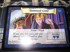 HARRY POTTER TRADING CARD GAME TCG BASIC BORROWED WAND 78/116 COM ENGLISH MINT