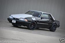 "FOX 4"" Mustang Fender Hash Mark Stripe Stripes PAIR 84 86 87 88 89 90 91 92 93"