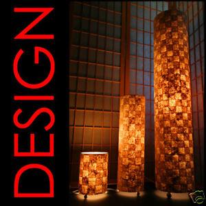 * Design Stehleuchte Stehlampe Tischlampe Papier S114 * Rund