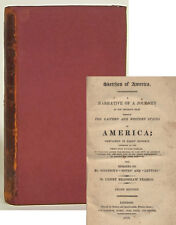 Henry B. Fearon Sketches of America 1819 third edition advice to immigrants