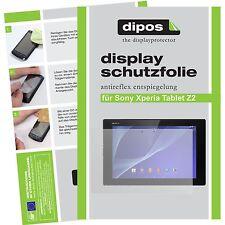 2x Sony Xperia Tablet Z2 Protector de Pantalla protectores mate