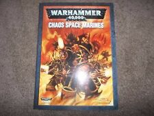 Warhammer 40K Codex Chaos Space Marines 2007