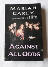 MARIAH CAREY: AGAINST ALL ODDS [feat. Westlife] (Single Cassette Tape)