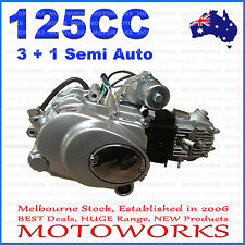 125cc 3 + 1 Semi auto + reverse Engine Motor ATV Quad Bike GoKart Dune Buggy