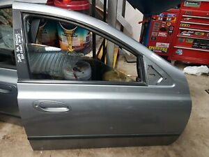 FORD BA  FALCON RIGHT HAND FRONT DRIVERS DOOR SHELL PAINT CODE: M7 SILVER