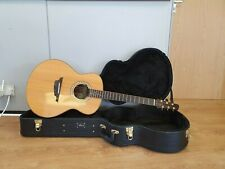 More details for kiso klein omk-1 om style electro acoustic guitar indian rosewood & spruce