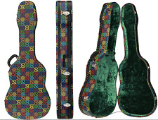 Gucci Collectors Gg Psychedelic Canvas Monogram Guitar Case Bag Carry Travel