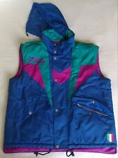 Vintage 90's FILA Bodywarmer Jacket Retro Sleeveless Coat Vest Size Large L D52