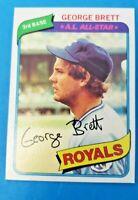 1980 Topps #450 George Brett Royals HOF NM