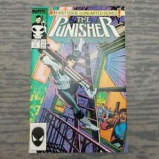The Punisher #1 First Issue of an Unlimited Series Marvel Comics Group 1987