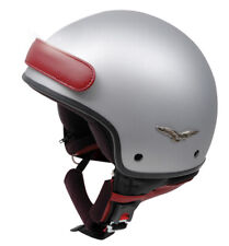 CABERG FREEDOM MATT SILVER OPEN FACE MOTORCYCLE HELMET NEW
