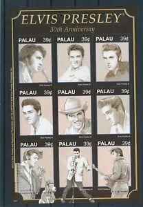 [G28067] Palau Elvis Presley good sheet very fine MNH