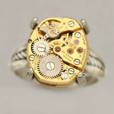 Punk Band Ring Wedding Jewelry Gift Fashion Unique Women Men Stainless Steel