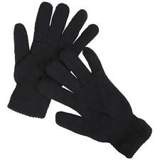MENS BLACK MAGIC STRETCHY KNITTED SKIING WINTER OUTDOOR WARM THERMAL GLOVES UK