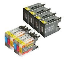 10 Patronen für XL Brother MFC J5910DW MFC-J6510DW MFC-J6710DW J6910DW LC1280 XL