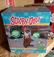 SCOOBY-DOO CHRISTMAS ORNAMENT AIRBLOWN INFLATABLE 3.5 FT LED LIGHT 1PC BRAND NEW