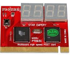 PCI 4-bit code PC POST Debug Analyser card PT093