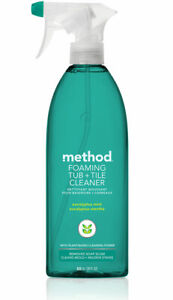 Foaming Tub & Tile Cleaner by Method 28OZ Single With Power Green Technology NEW