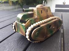 Karl Bub Blechspielzeug Panzer Uhrwerkantrieb Kanone mit Funktion Rar Selten