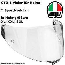 AGV Visier GT3-1 für SportModular KLAR für Helmgrößen XXS, XS, S, MS, ML, L