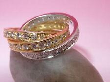 Echtschmuck-Ringe im Band-Stil mit VVS Reinheit