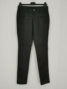 Brand New | Calvin Klein Jeans | Pleather Satin Trousers | Sz 8 W26 L30 | Black