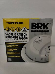 First Alert BRK SC9120B Smoke And Carbon Monoxide With Battery BackUp Date:2021