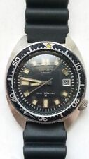 Seiko 2nd Diver 6105 8000 Automatic 150m Loose Bezel VG