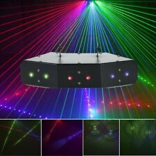 Music Active Led Rgb Stage Lights Lighting Laser Beam Dmx Disco Party Club Dj