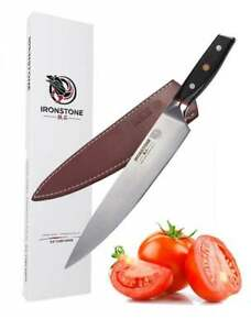 Genuine Ironstone® Pro Chef Knife 9.5 inch Stainless steel sharp Damascus