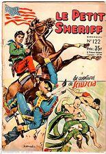 ¤ LE PETIT SHERIFF n°122 ¤ 1955 ¤ SAGE