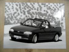 Foto Fotografie photo photograph FORD Escort Cabrio 08/90 Nr. 2 SR1017