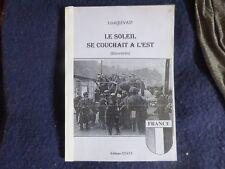 LE SOLEIL SE COUCHAIT A L'EST TAPUSCRIT WAFFEN LVF CHARLEMAGNE WW2 HEIMDAL SS
