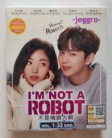 Korean Drama DVD I'm Not a Robot (2018) GOOD ENG SUB All Region FREE SHIPPING