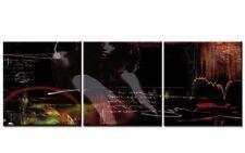 RED LIGHT EROTIC 120x40cm 3 BILDER SEXY LOUNGE LEINWAND