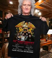 50TH ANNIVERSARY OF QUEEN 1970-2020 SHIRT