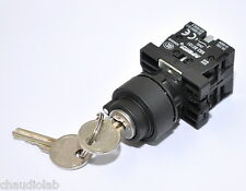 1x Key Lock Power On-Off-On Switch Maintained Key type #16212