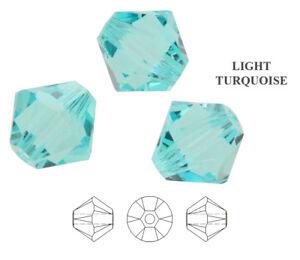 Genuine SWAROVSKI 5328 XILION Bicone Crystals Beads * Many Sizes & Colors