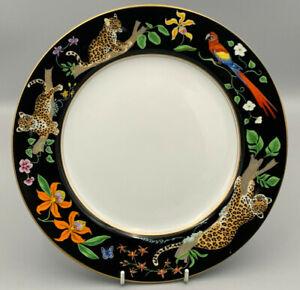 """Lynn Chase Designs Jaguar Jungle - 10,3/4"""" Dinner Plate."""