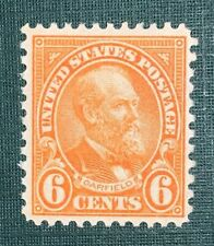 Travelstamps: 1927 US Stamps Scott # 638, Garfield, 6c, Mint, Og, Light Hinge