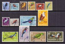 Uganda 1965 Birds SG 113-26 used