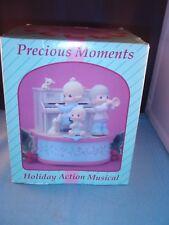 "Precious Moments ""Holiday Action Musical"" Music Box"