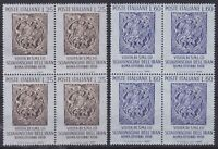 ITL148) Italy set of 6 blocks of 4, 1958 350th Anniversary birth of Toricelli, 4